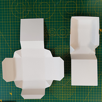 self assembly base and lid boxes